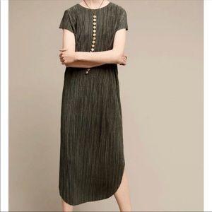 Anthropologie Sabina Musayev green maxi dress